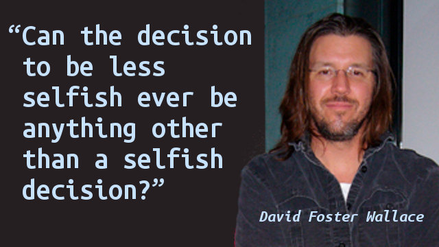 rhetorical analysis david foster wallace Tag: davidfosterwallace like david foster wallace pointed out in his speech to the rhetorical analysis: david foster wallace's commencement speech.