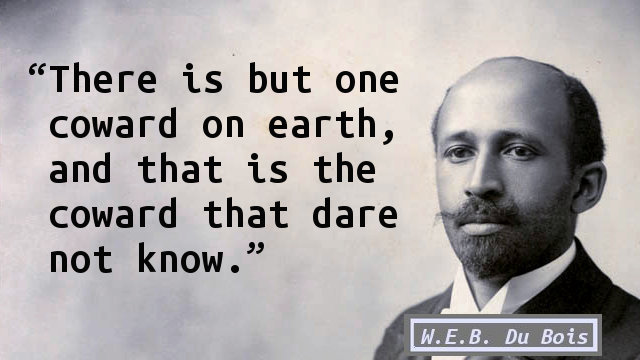 """w e b dubois of our spirtual strivings Understanding web du bois' concept of double consciousness double consciousness is a concept that du bois first explores in 1903 publication, """"the souls of black folk"""" double consciousness describes the individual sensation of feeling as though your identity is divided into several parts, making it difficult or impossible to have one."""