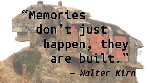 Memories don't just happen, they are built.
