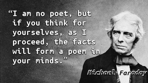 I am no poet, but if you think for yourselves, as I proceed, the facts will form a poem in your minds.