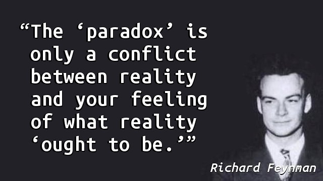 The 'paradox' is only a conflict between reality and your feeling of what reality 'ought to be.'
