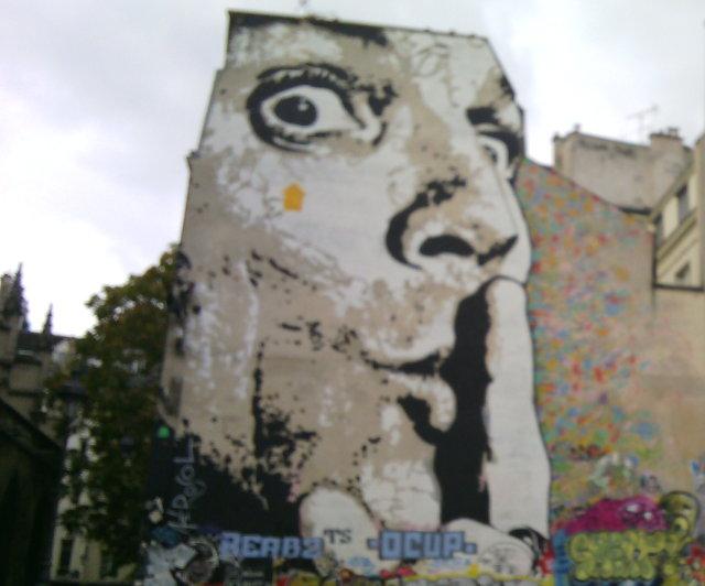 Shhhh, Place Igor-Stravinsky, Paris