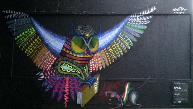 Street art by Spaik - Le MUR