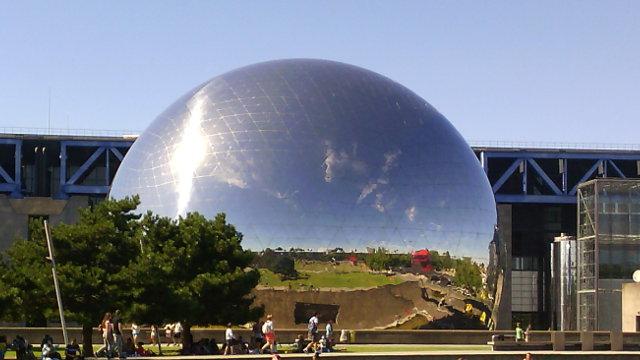 La Géode, Parc de la Villette, Paris 19ème