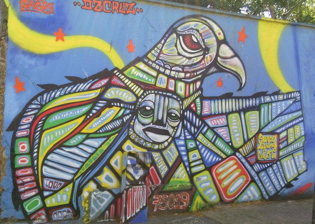 Street art signed DaCRUZ