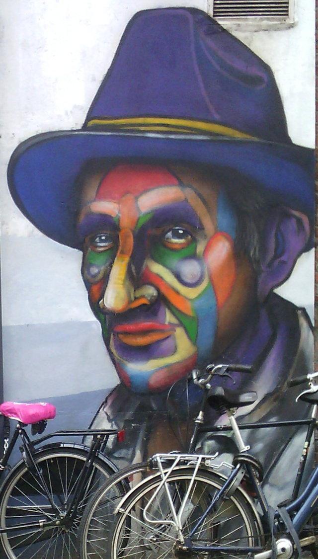 Street art, Eendrachsstraat, Rotterdam