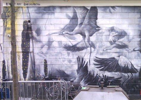 Street art, Boomgaardsstraat, Rotterdam