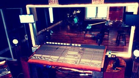 Studio A, Rock Factory Recording Studio and Mastering Studio, Hadley, Massachusetts