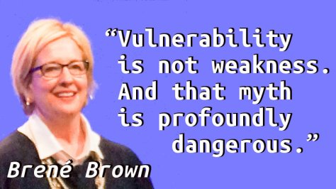Vulnerability is not weakness. And that myth is profoundly dangerous.