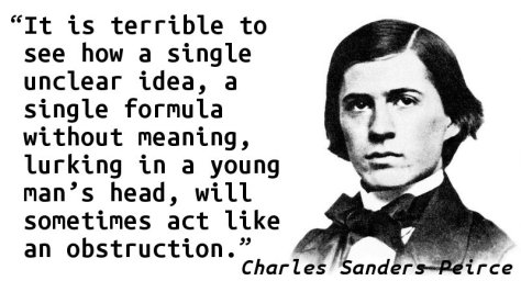 It is terrible to see how a single unclear idea, a single formula without meaning, lurking in a young man's head, will sometimes act like an obstruction.