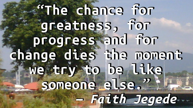 Faith Jegede What Ive Learned From My >> Faith Jegede Someone Else Yahooey S Blog