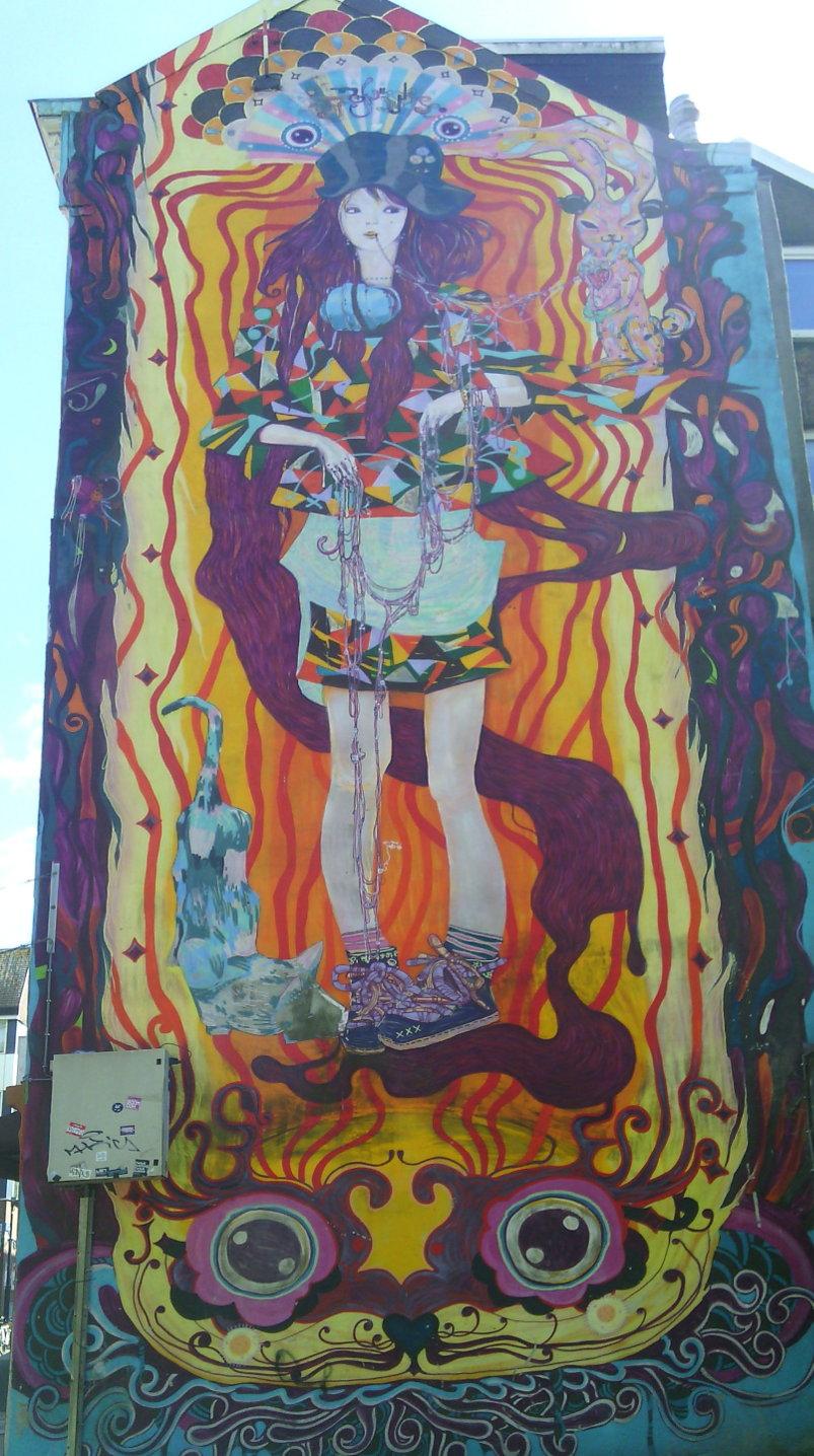 Street art, Kromme Elleboog, Rotterdam