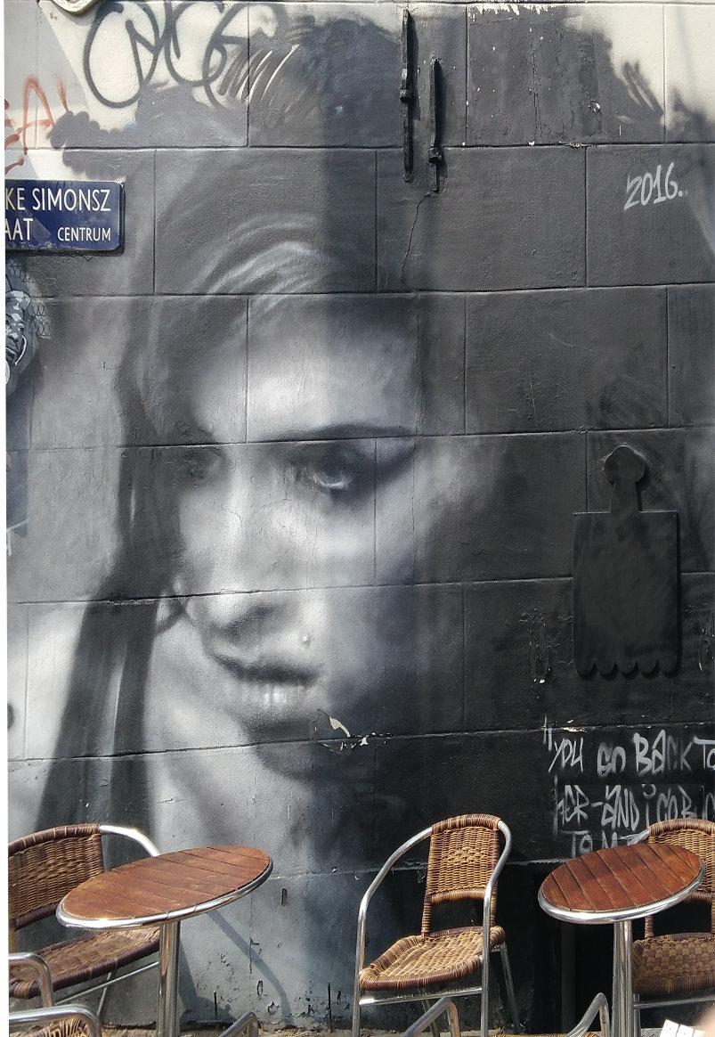 Street art, Fokke Simonszstraat, Amsterdam