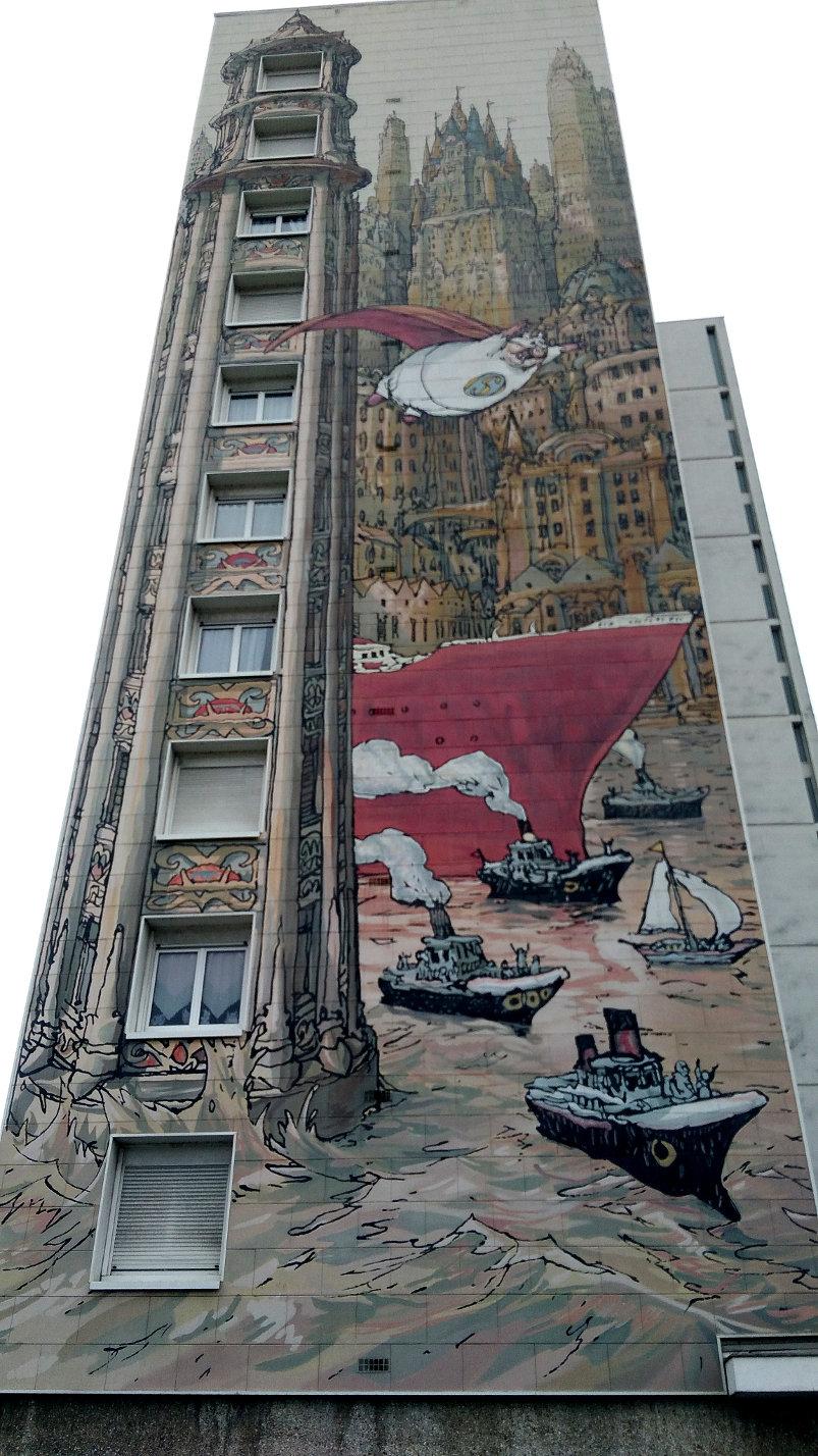 Street Art, 15 bis rue de la Grand Font, Angoulême, France