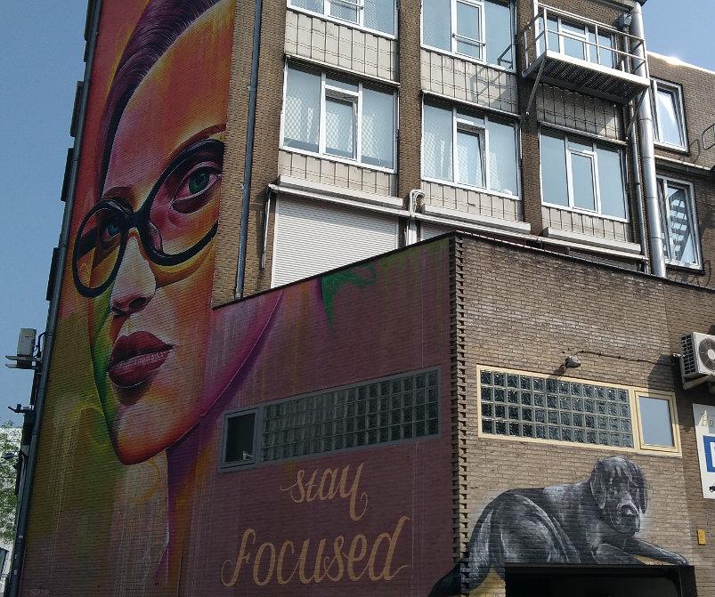 Street Art, Stationsplein, Arnhem, Netherlands