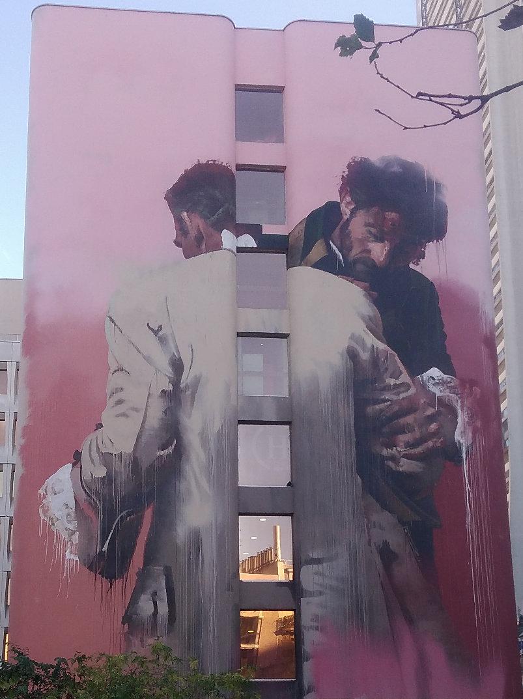 Street Art, 83 Boulevard Vincent Auriol, 13th Arrondissement, Paris, France