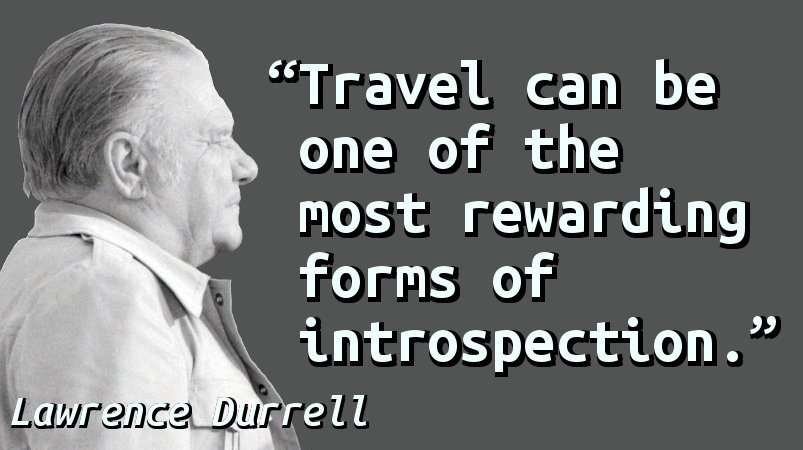 Travel can be one of the most rewarding forms of introspection.