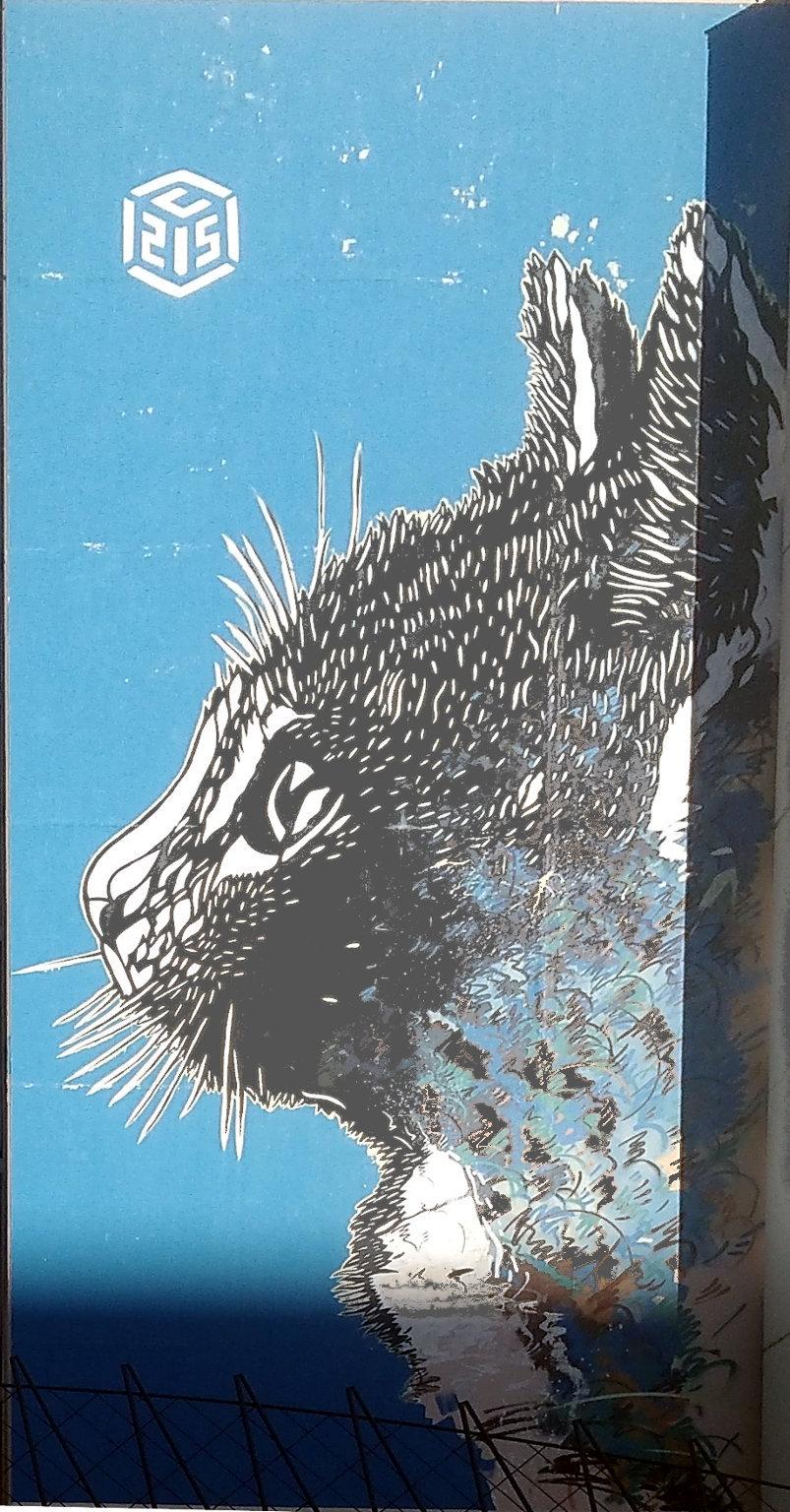 Street Art, 141 boulevard Vincent Auriol, 13th Arrondissement, Paris, France