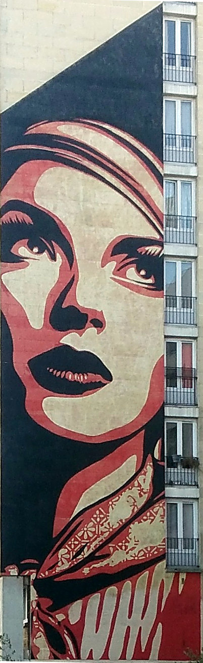 Street Art, 95 Rue Jeanne d'Arc, 13th Arrondissement, Paris, France