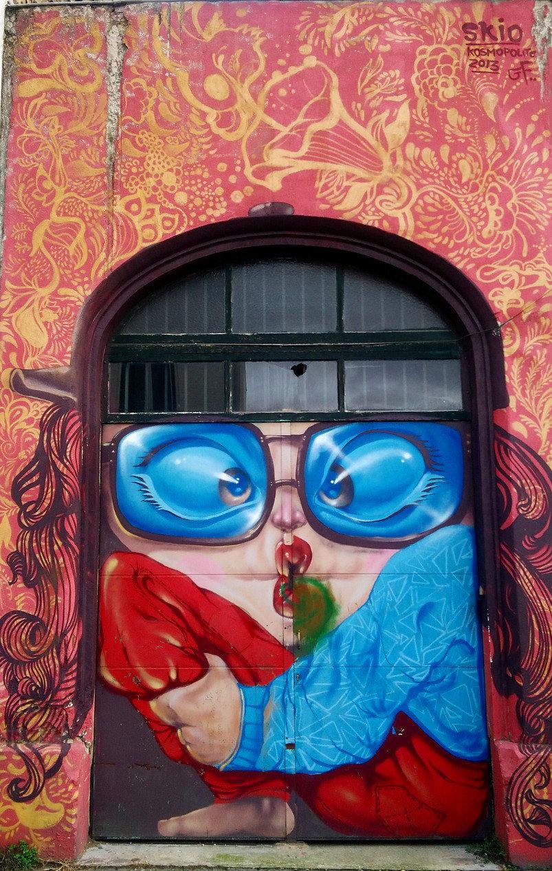 Street Art, Rue Charles Graindorge, Bagnolet, France