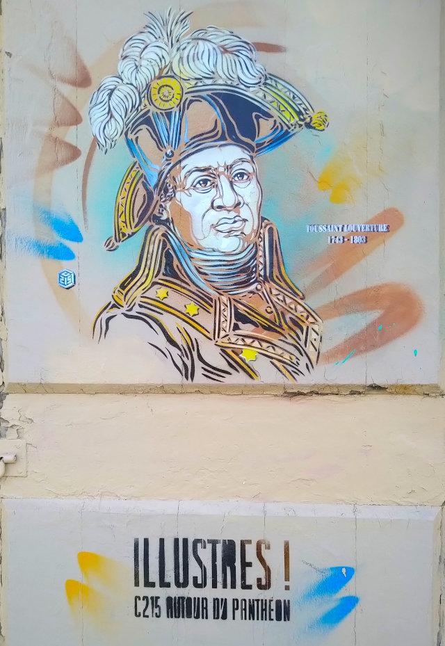 Street Art, 13 rue Clovis, 5th Arrondissement, Paris, France