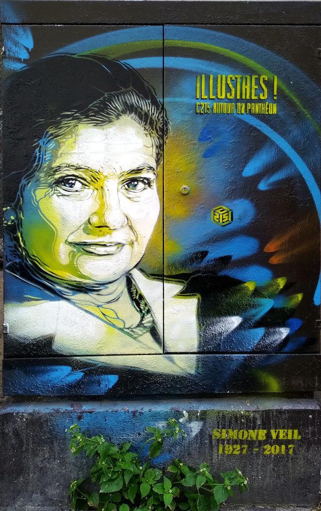 Street Art, 45 rue d'Ulm, 5th Arrondissement, Paris, France