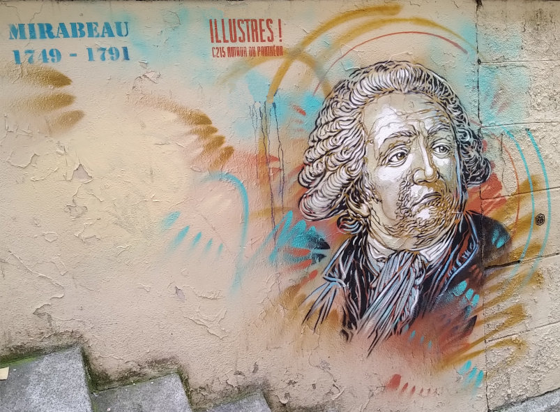 Street Art, 17 rue Malebranche, 5th Arrondissement, Paris, France
