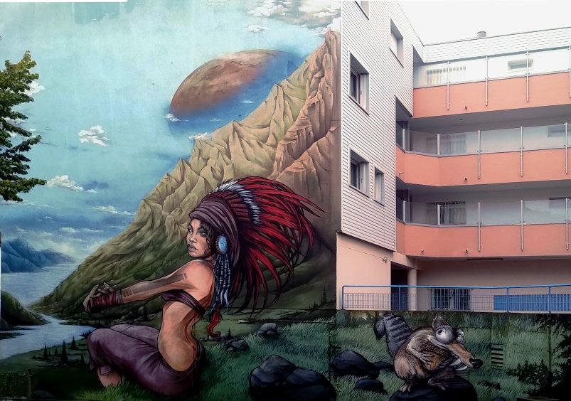 Street Art, 11 rue du Général Leclerc, Bagnolet, France