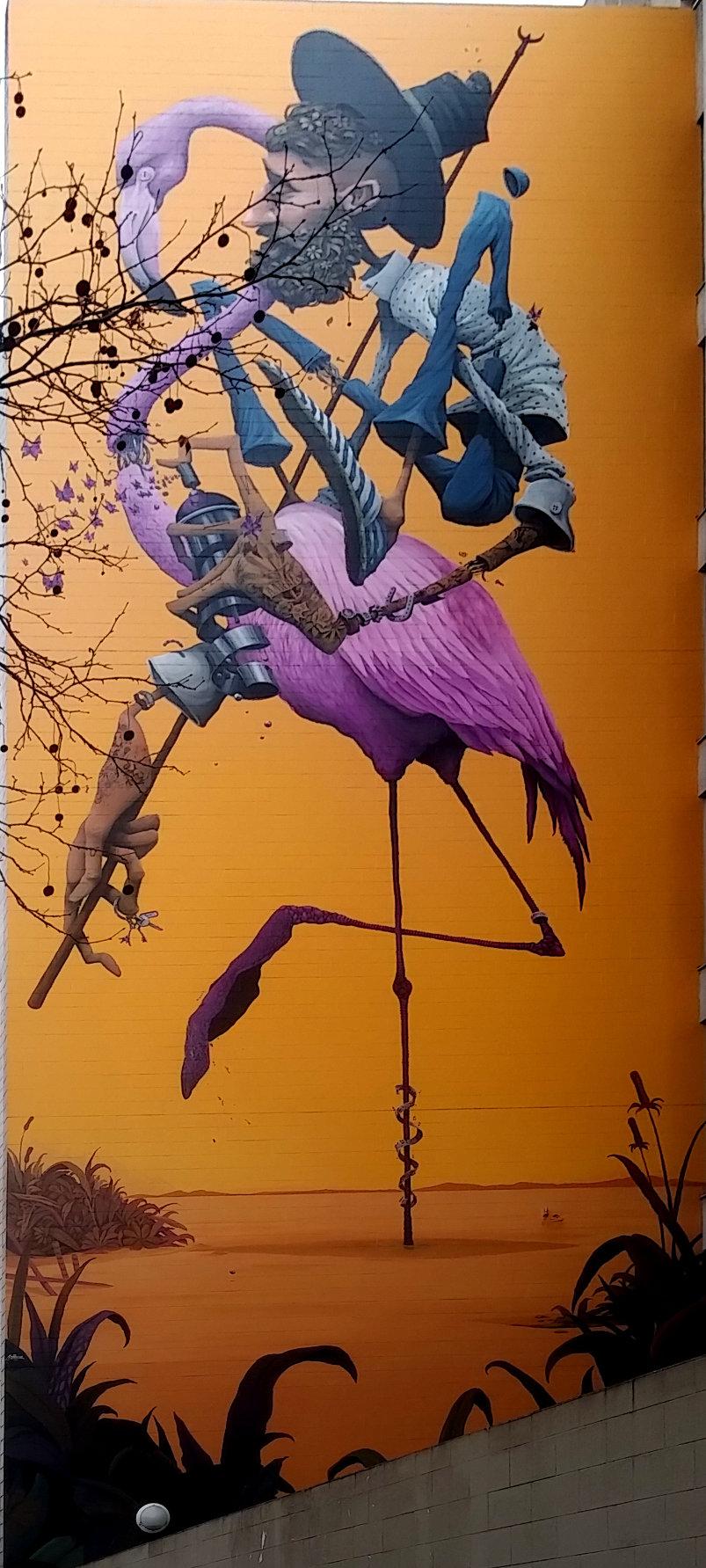 Street Art, 131 boulevard Vincent Auriol, 13th Arrondissement, Paris, France