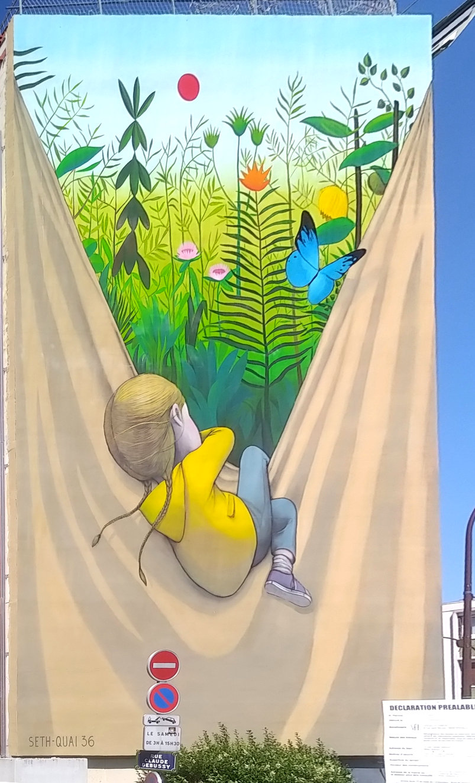 Street Art, 2 rue Claude Debussy, Versailles, France
