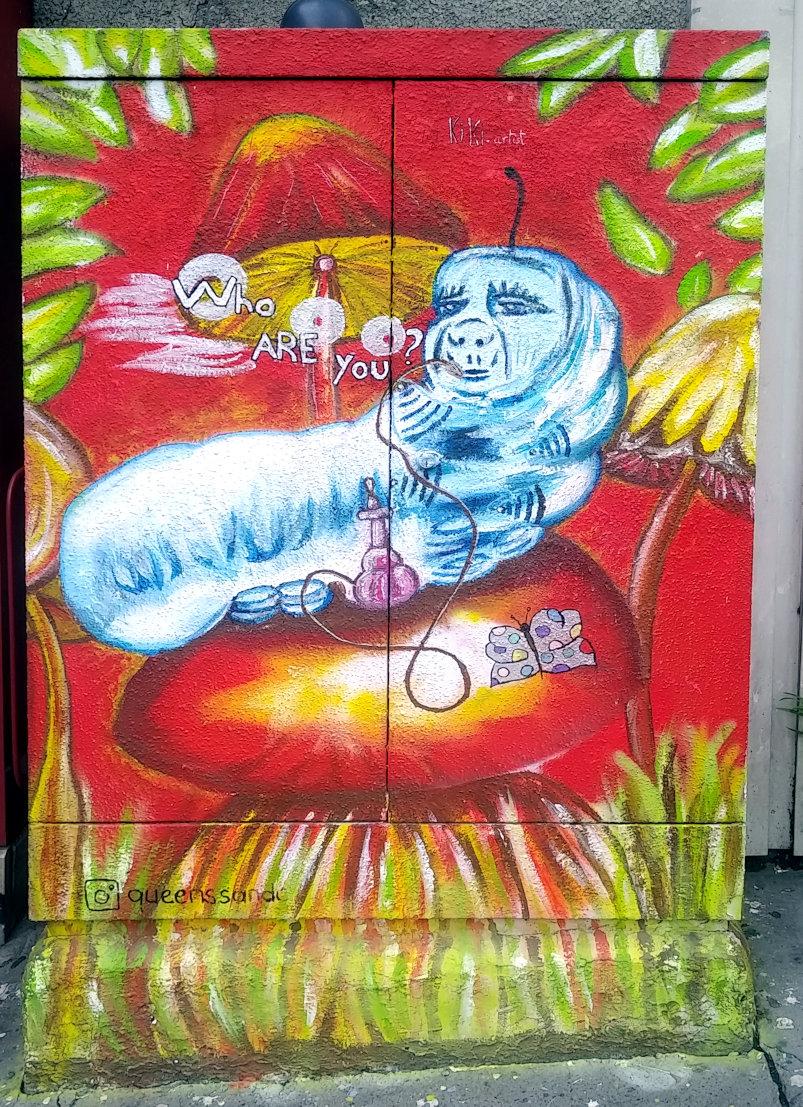 Street Art, 38 place Jeanne-d'Arc, 13th Arrondissement, Paris, France