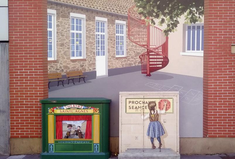 Street Art, 27 rue Jean Mermoz, Versailles, France