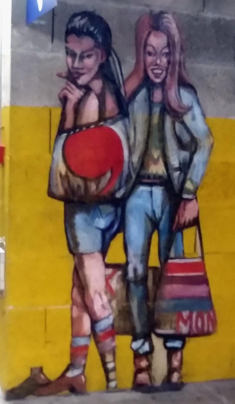 Street Art, 8 rue Gambetta, Tours, France