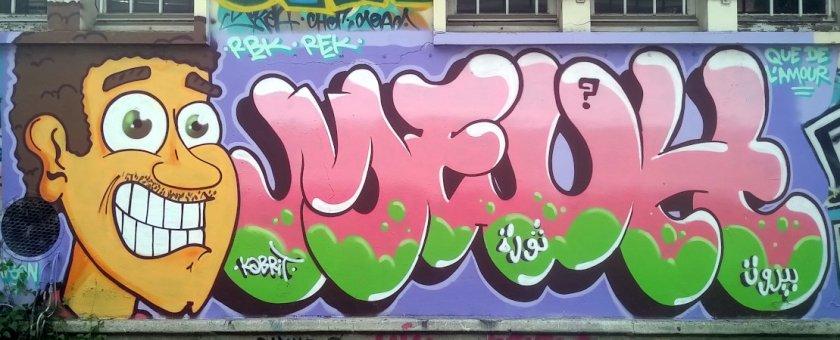 Street Art, Petite Ceinture, Paris, France