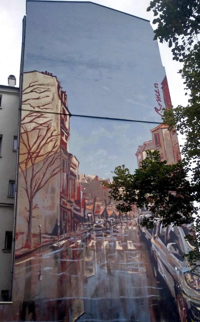Street Art, 108 rue Brançion, Paris, France