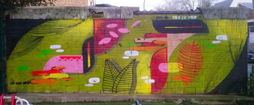 Street Art, 3 rue Jean Moulin, Malakoff, France