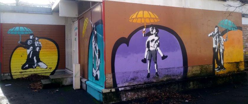 Street Art, 10 bis rue Agustin-Dumont, Malakoff, France