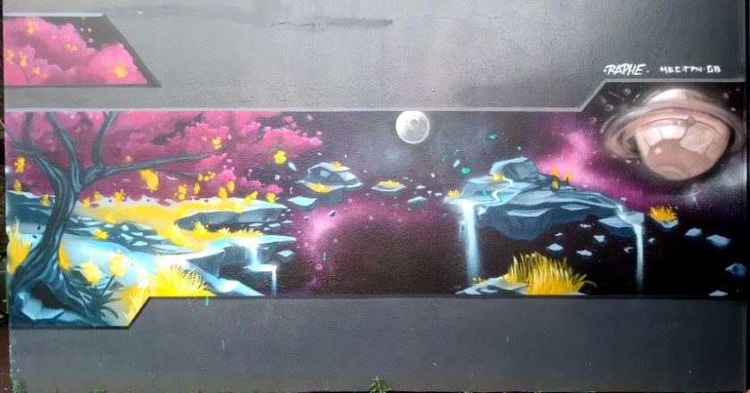 Street Art, rue Étienne Dolet, Malakoff, France