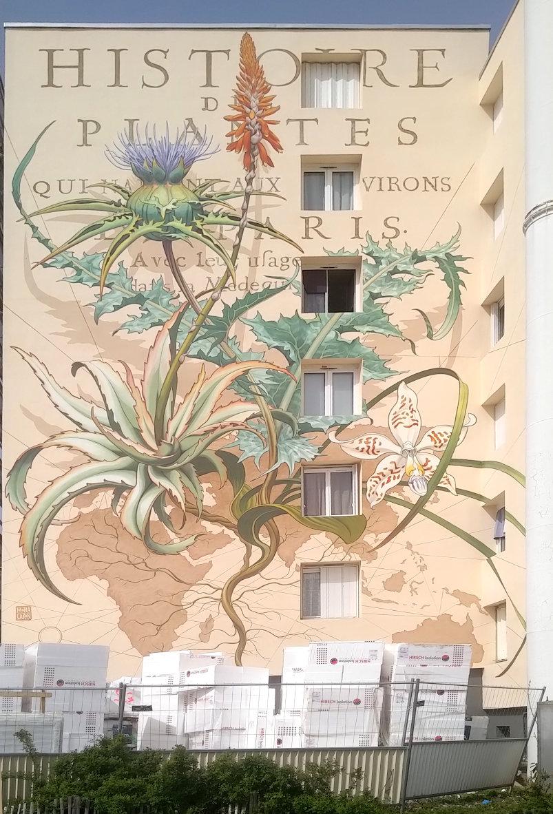 Street Art, 18 rue Charles Gounod, Versaiiles, France