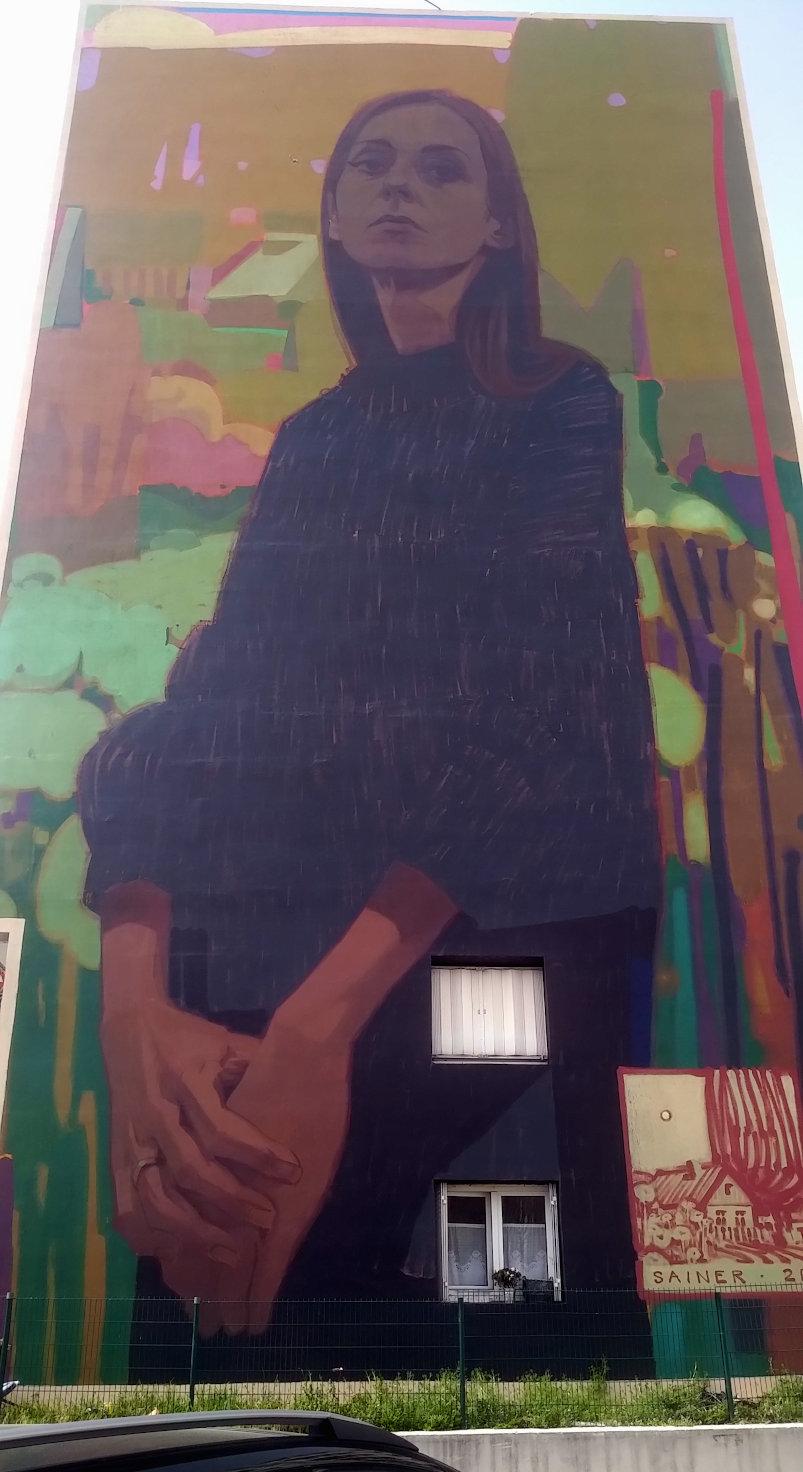 Street Art, 16 rue Charles Gounod, Versaiiles, France