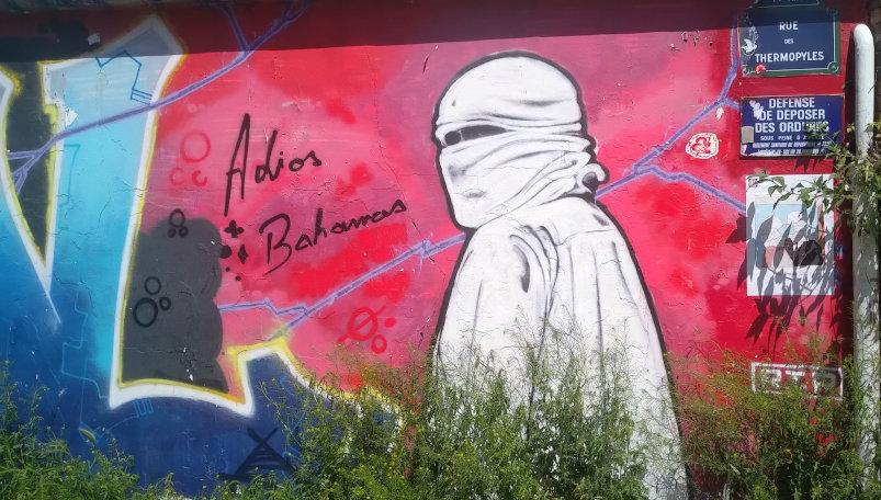 Street Art, 32 rue Didot, Paris, France