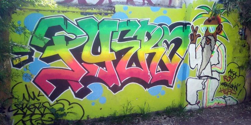 Street Art, 2 rue des Thermopyles, Paris, France