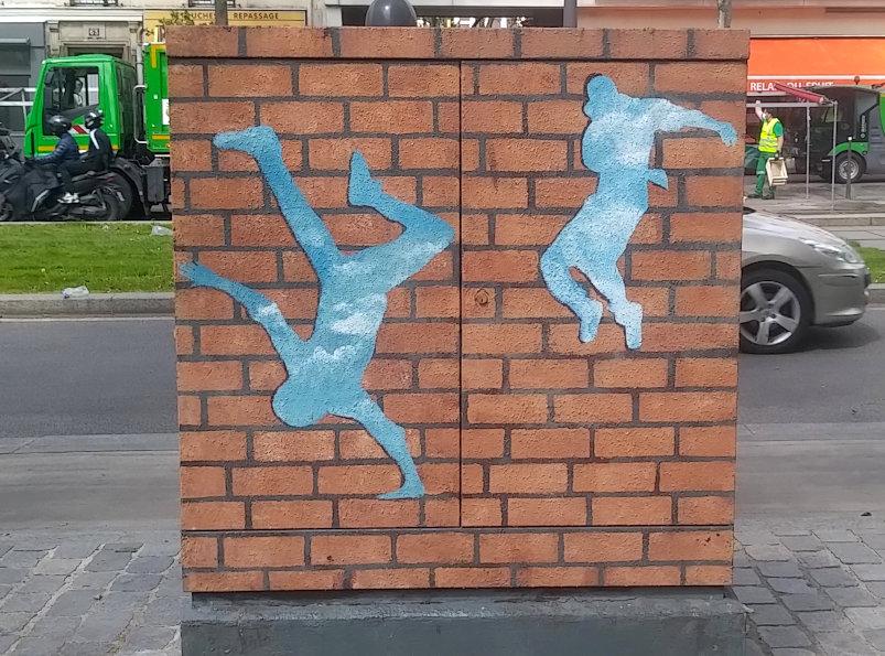 Street Art, 46 boulevard Brune, Paris, France