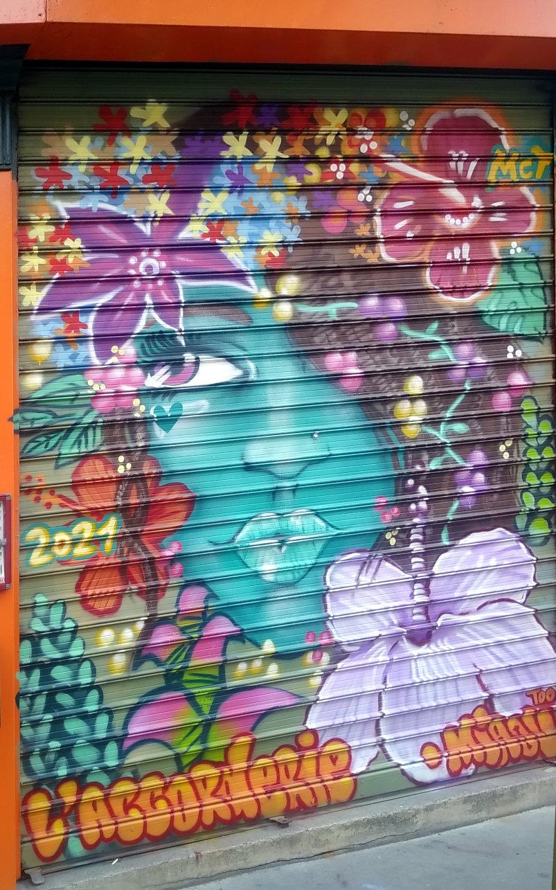 Street Art, 6 rue Maurice Bouchor, Paris, France