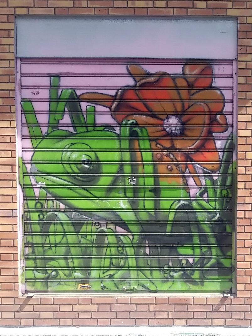 Street Art, 1 rue Maurice Bouchor, Paris, France