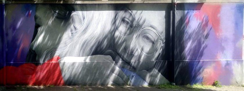Street Art, 5 rue Maurice Nogues, Paris, France
