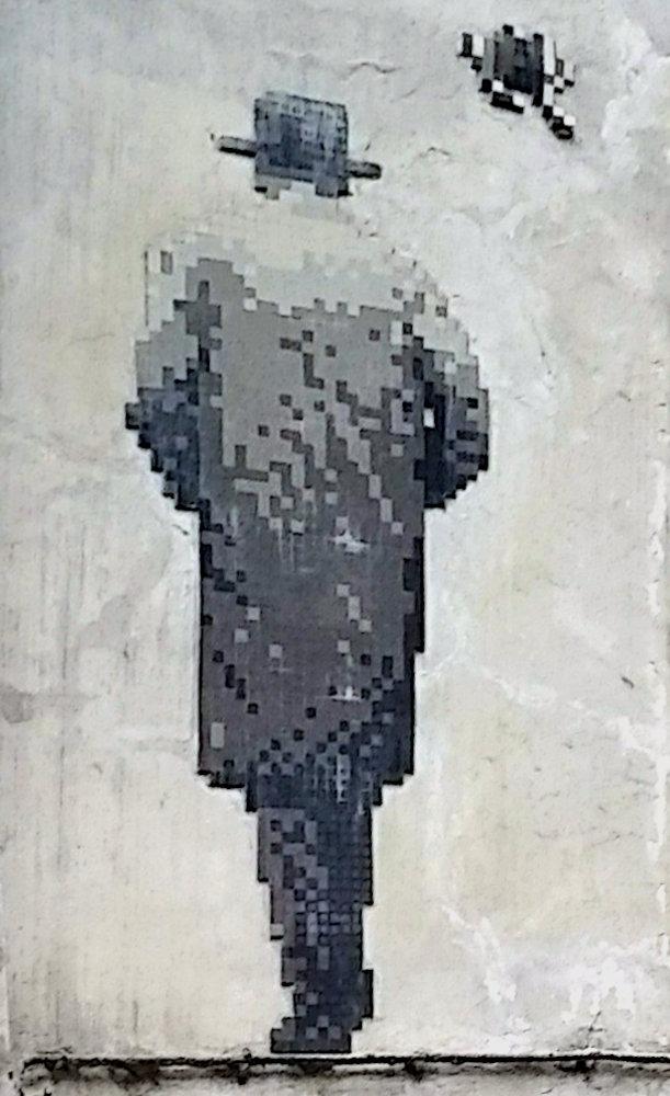 Street Art, 17 rue Gît-le-Cœur, Paris, France