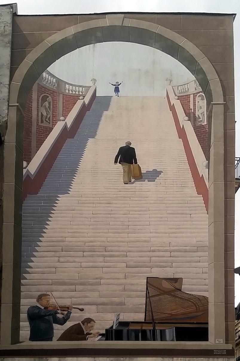Street Art, 17 rue Étienne Marcel, Paris, France