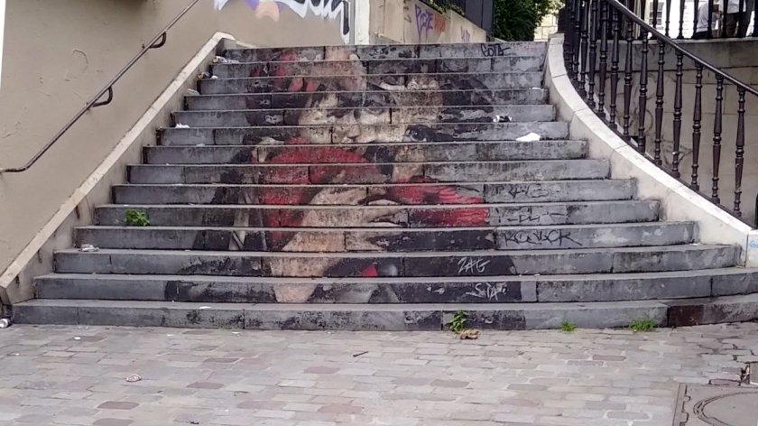 Street Art, rue Notre-Dame de la Bonne Nouvelle, Paris, France