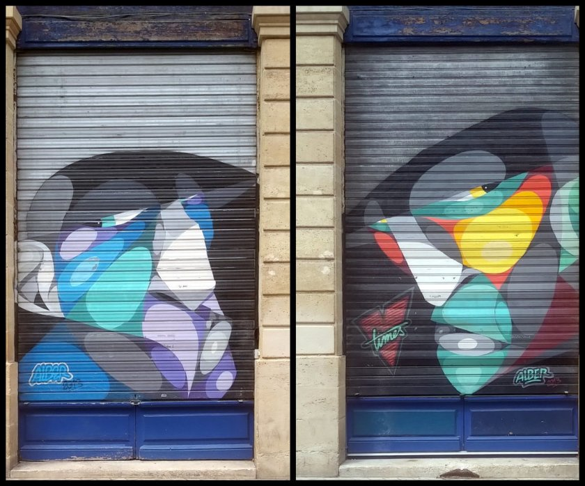 Street Art, 31 rue Sainte-Colombe, Bordeaux, France